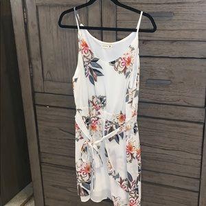 Promesa Floral Wrap Dress